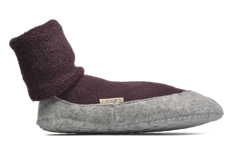 Chaussettes et collants Falke Chaussons-chaussettes COSYSHOE Noir vue derrière