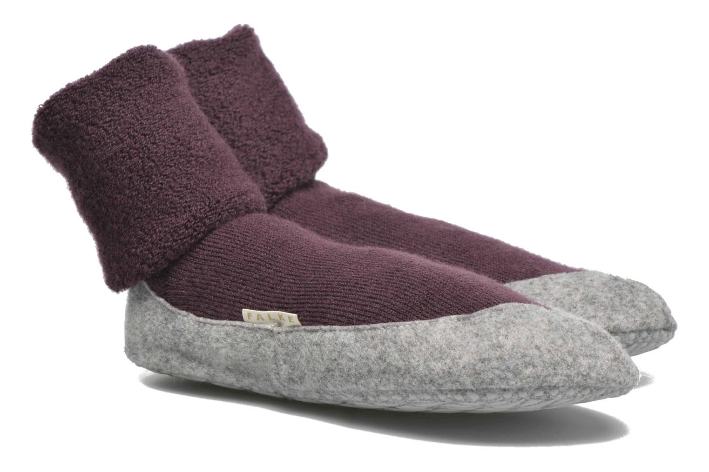 Chaussettes et collants Falke Chaussons-chaussettes COSYSHOE Noir vue détail/paire