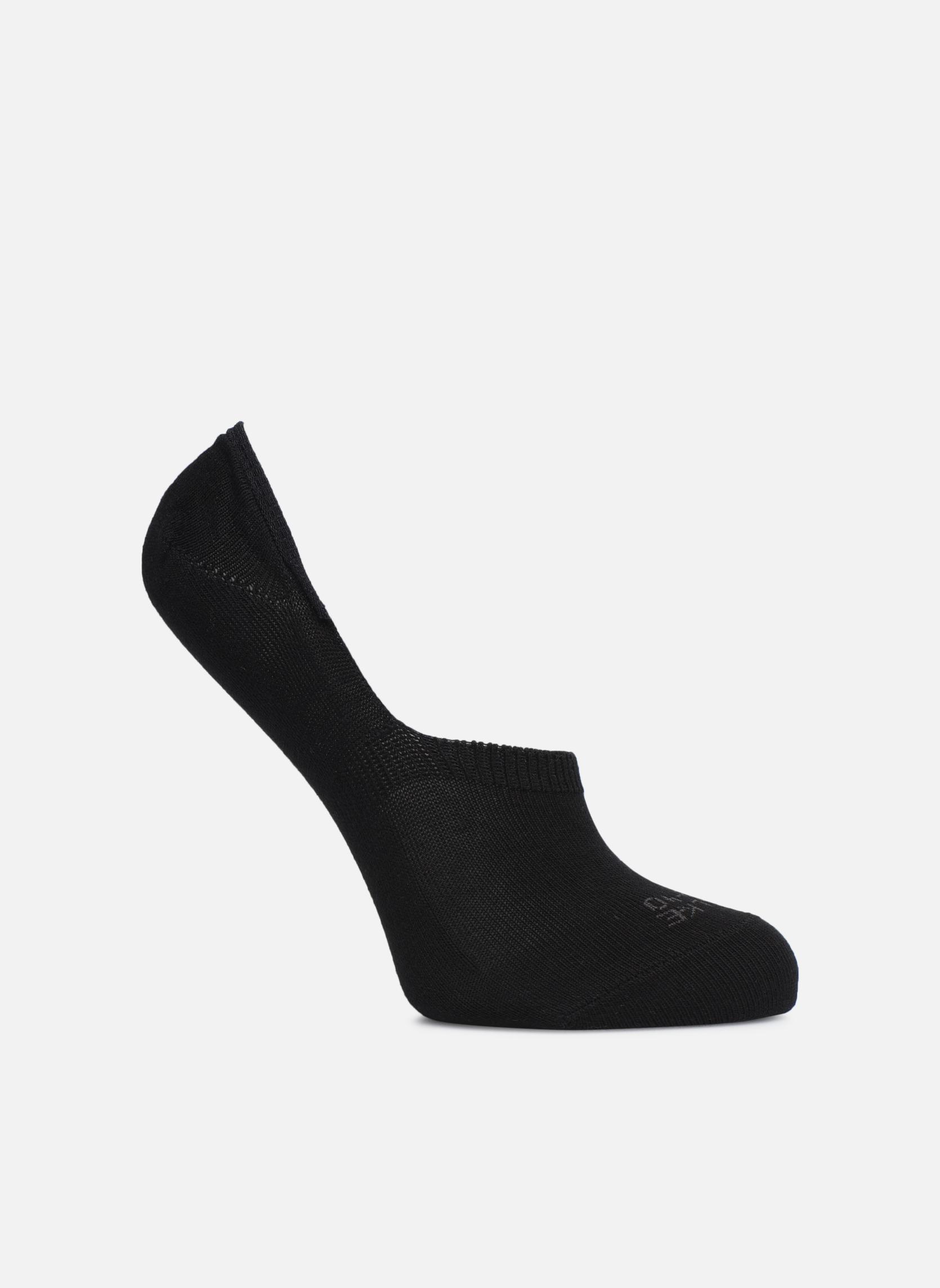 Strømper og tights Falke Invisible Step In Sort detaljeret billede af skoene