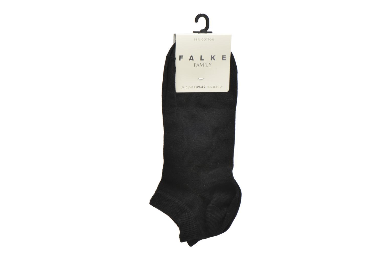 Socken & Strumpfhosen Falke Chaussettes Family Short schwarz ansicht von hinten
