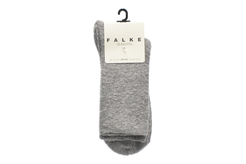 Socken & Strumpfhosen Falke Chaussettes Ascetic grau ansicht von hinten