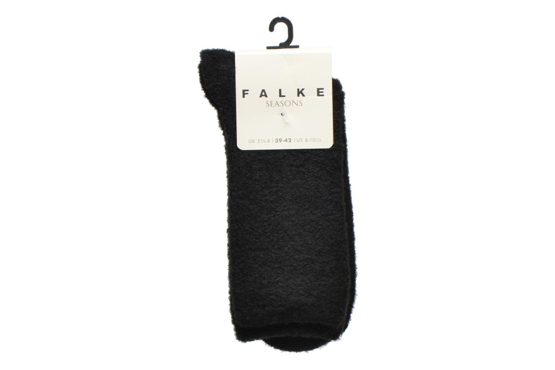 Chaussettes et collants Falke Chaussettes Ascetic Noir vue derrière