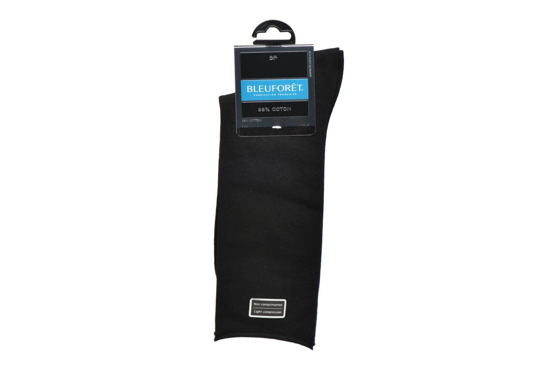 Calze e collant BLEUFORÊT Chaussettes Veloutées Nero immagine posteriore