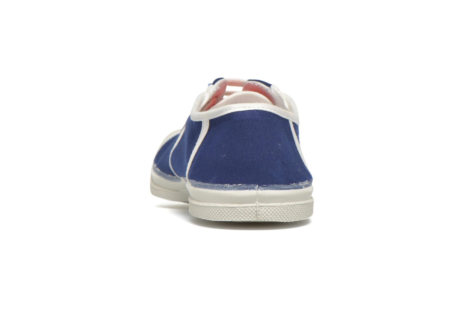 Trainers Bensimon Tennis Ines de la Fressange Blue view from the right