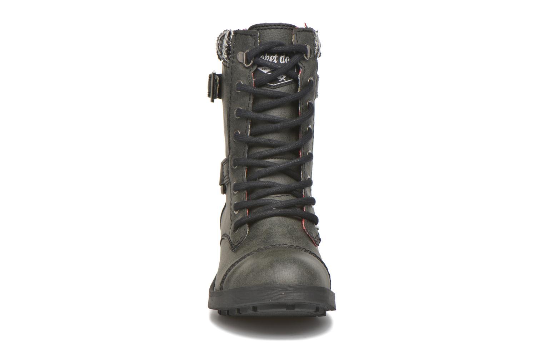 Stiefeletten & Boots Rocket Dog Thunder GB grau schuhe getragen