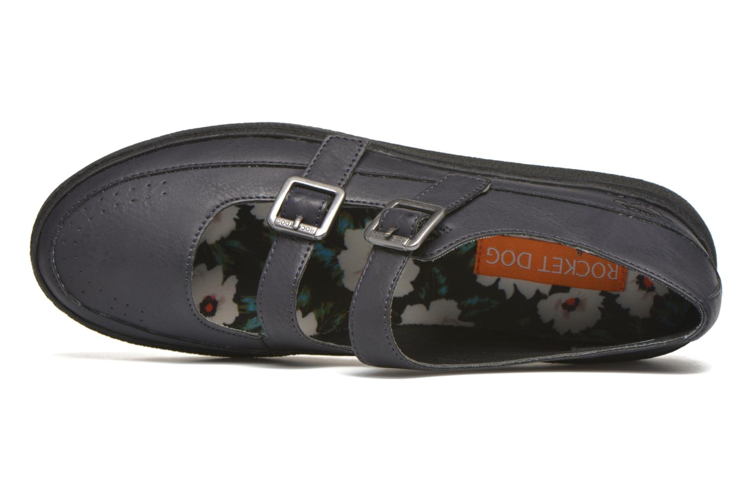 Ballet pumps Rocket Dog Vector WM Black view from the left
