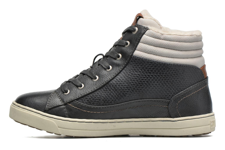 Sneakers Mustang shoes Mitzi Blauw voorkant