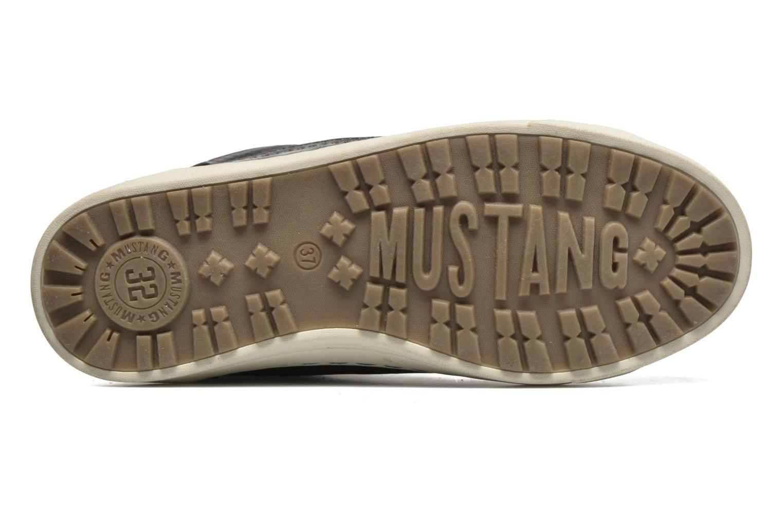 Baskets Mustang shoes Mitzi Bleu vue haut