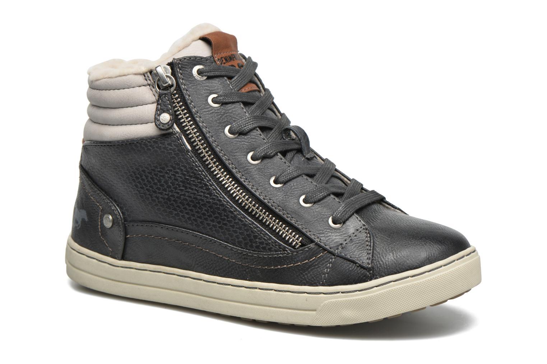 Baskets Mustang shoes Mitzi Bleu vue détail/paire