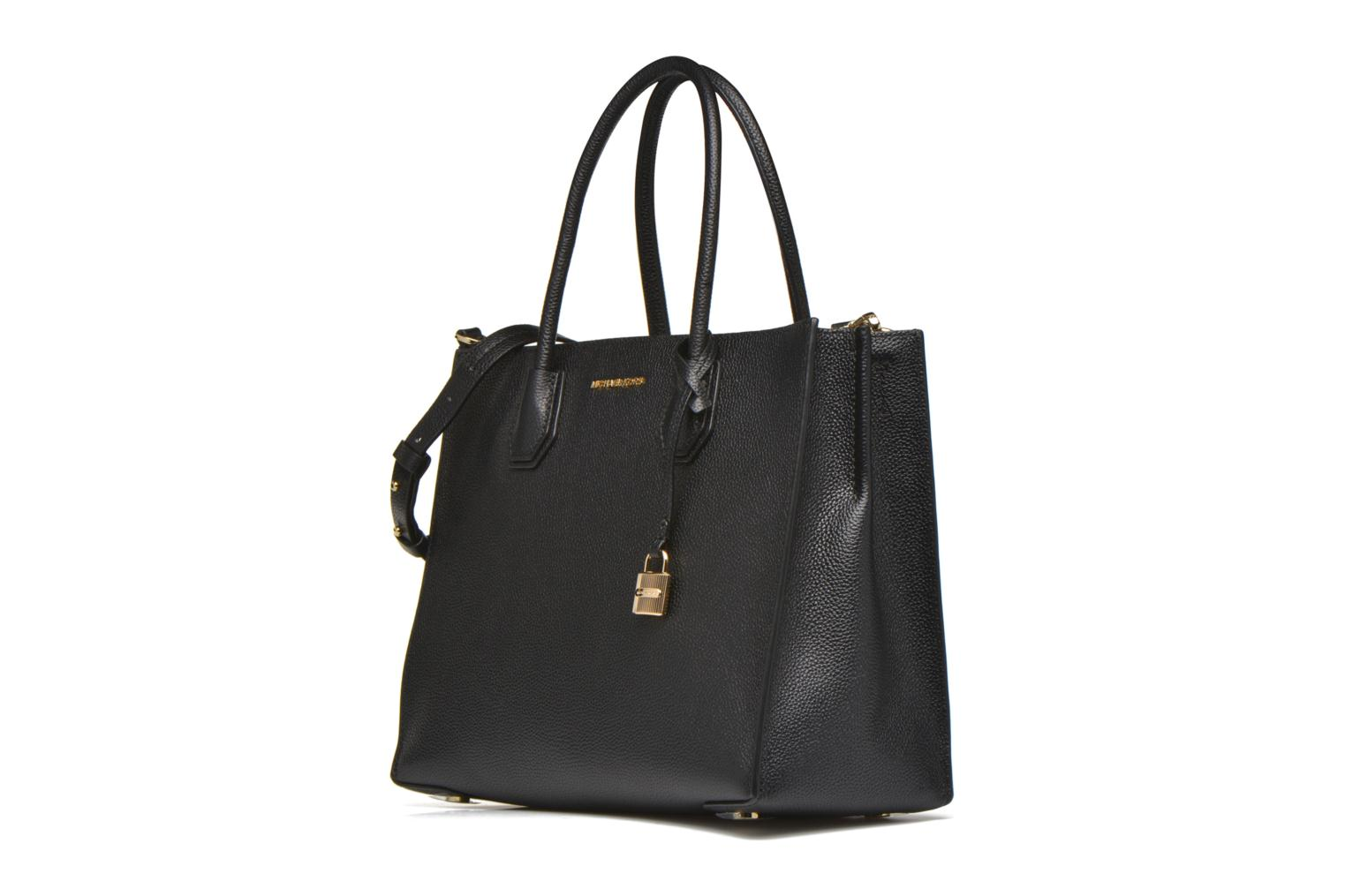 MERCER LG Convertible Satchel Black