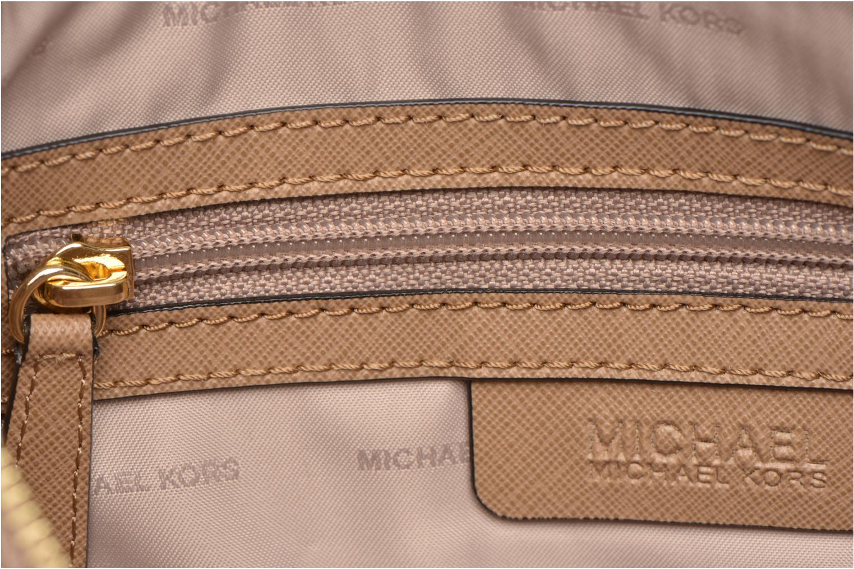 Handtassen Michael Michael Kors MERCER LG Convertible Satchel Zwart achterkant