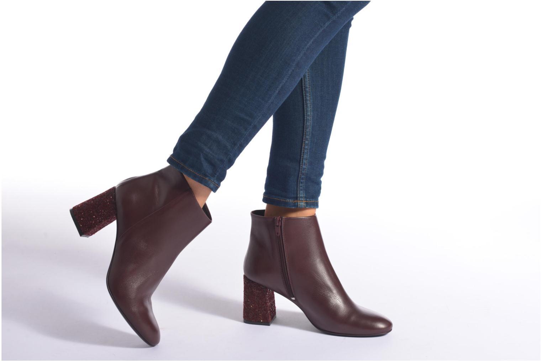 Bottines et boots Georgia Rose Divala Noir vue bas / vue portée sac