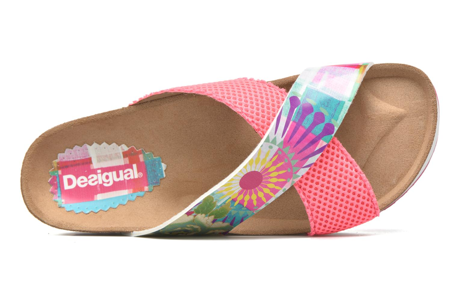 Mules & clogs Desigual SHOES_BIO 10 MEGARA 2 Pink view from the left