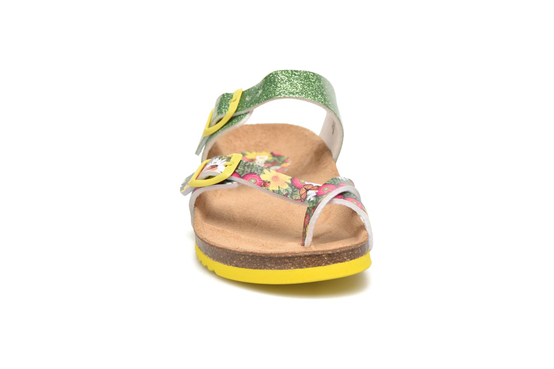 Sandalias Desigual SHOES_BIO 4 Verde vista del modelo