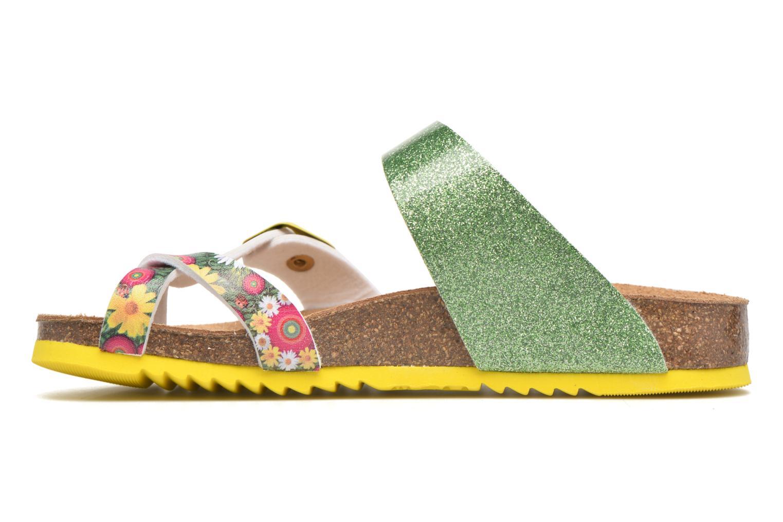 Sandalias Desigual SHOES_BIO 4 Verde vista de frente