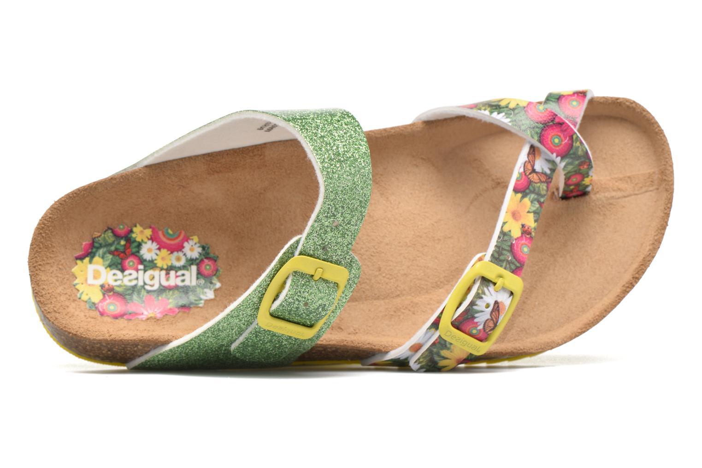 Sandalias Desigual SHOES_BIO 4 Verde vista lateral izquierda