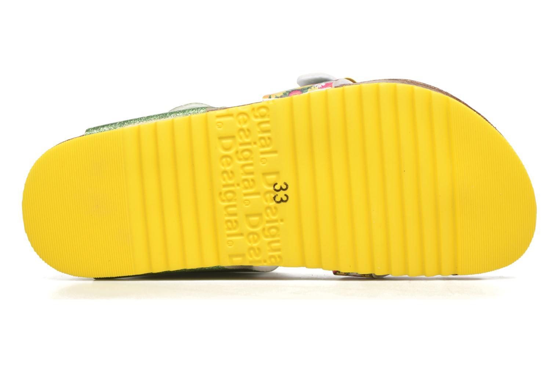 Sandalias Desigual SHOES_BIO 4 Verde vista de arriba