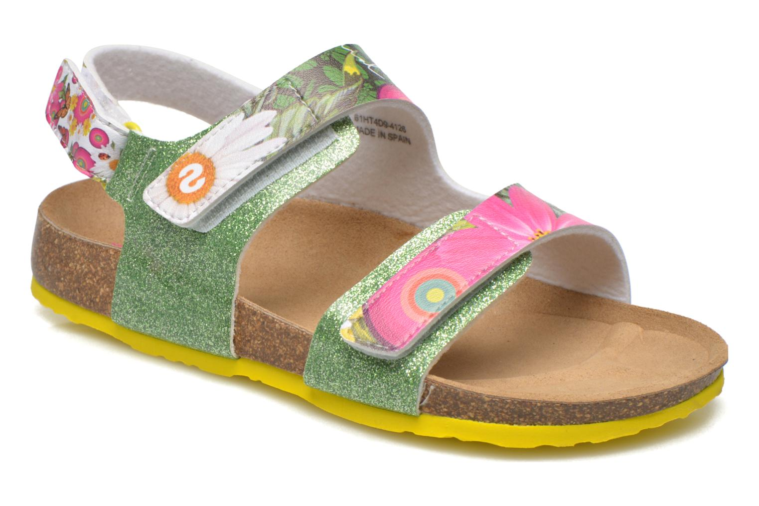 SHOES_BIO 2 E 4126 GREEN SHEEN