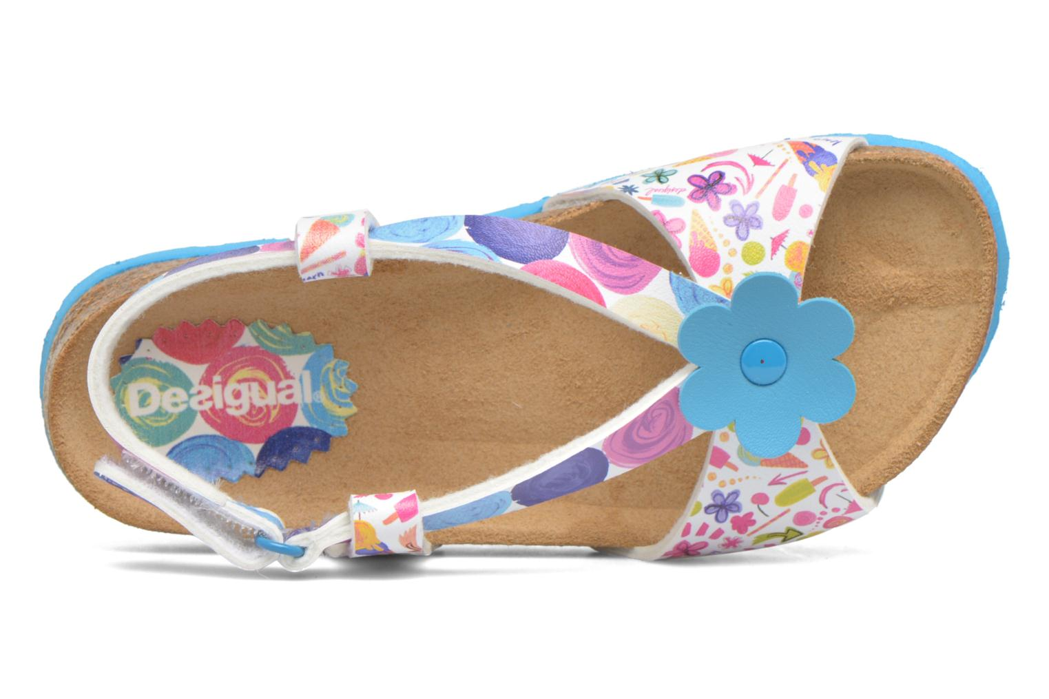 Flip flops Desigual SHOES_BIO 3 E Blue view from the left