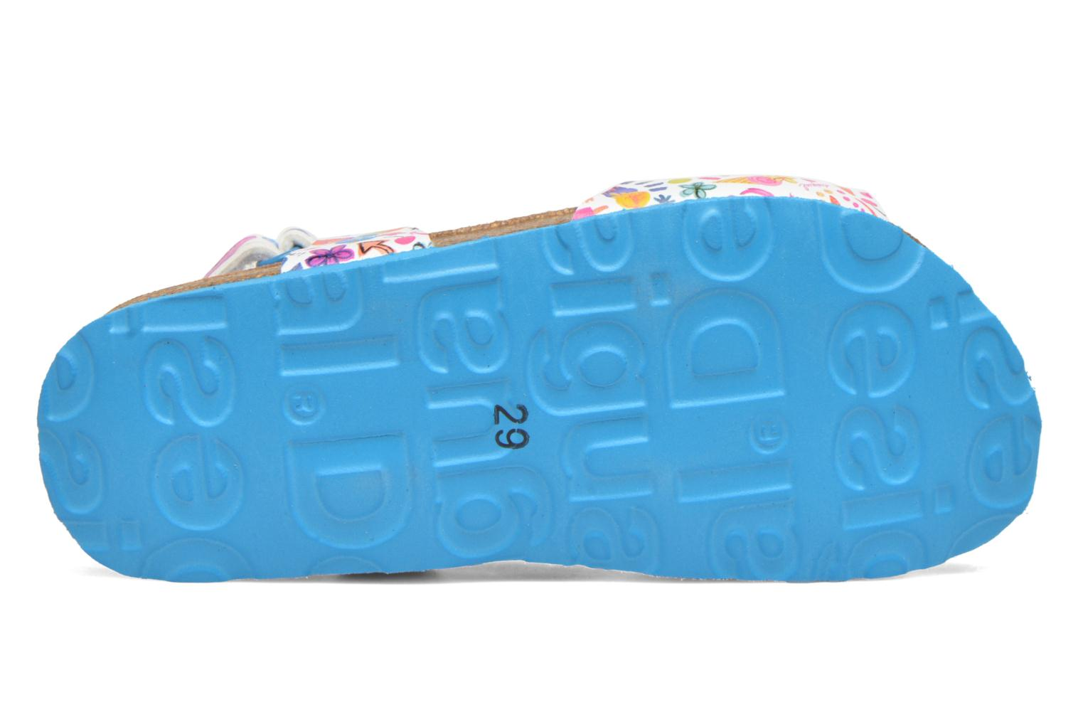 Flip flops Desigual SHOES_BIO 3 E Blue view from above