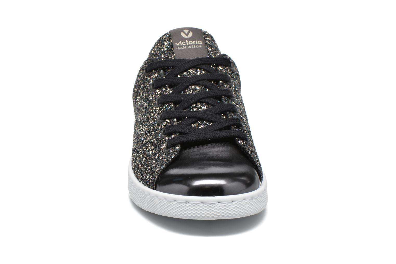 Descuento de la marca Victoria Deportivo Plateform Glitter (Negro) - Deportivas en Más cómodo