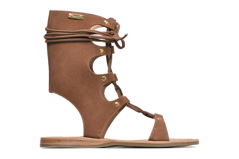 Sandals Les Tropéziennes par M Belarbi Baktal Brown back view