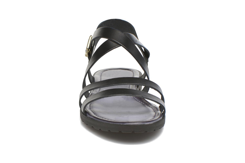 Sandals Initiale Paris Henane Black model view
