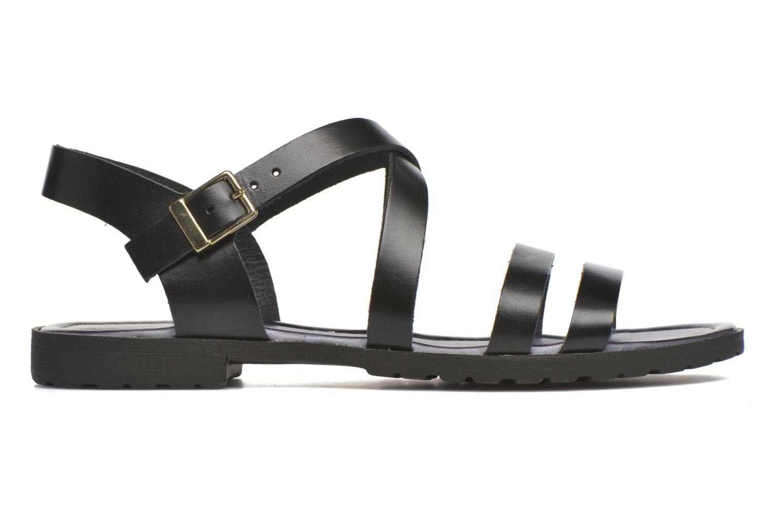 Sandals Initiale Paris Henane Black back view