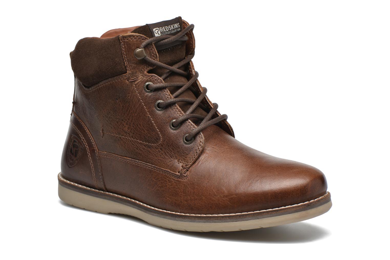 Bottines et boots Redskins Batex Marron vue détail/paire