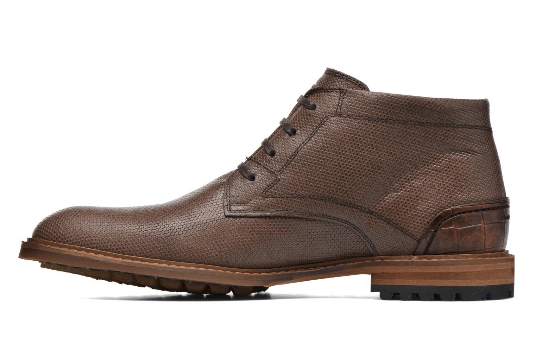 Bottines et boots Floris Van Bommel Baptiste II Marron vue face