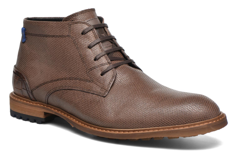 Bottines et boots Floris Van Bommel Baptiste II Marron vue détail/paire