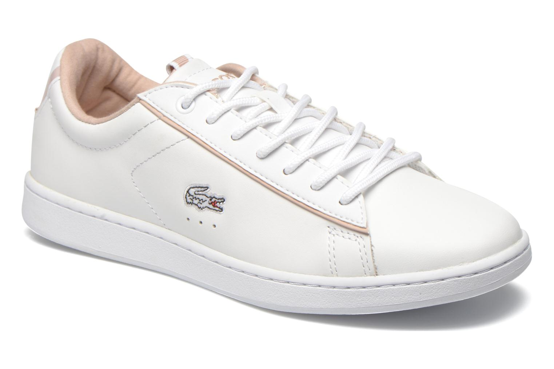 Sneakers Lacoste Carnaby EVO EDG Hvid detaljeret billede af skoene