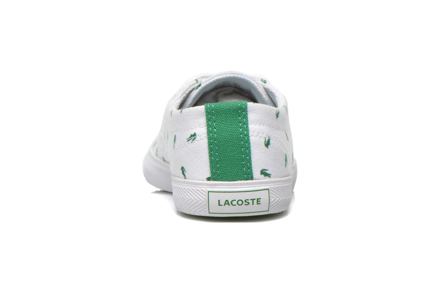 Baskets Lacoste Marcel Lace Up 116 1 SPC Blanc vue droite