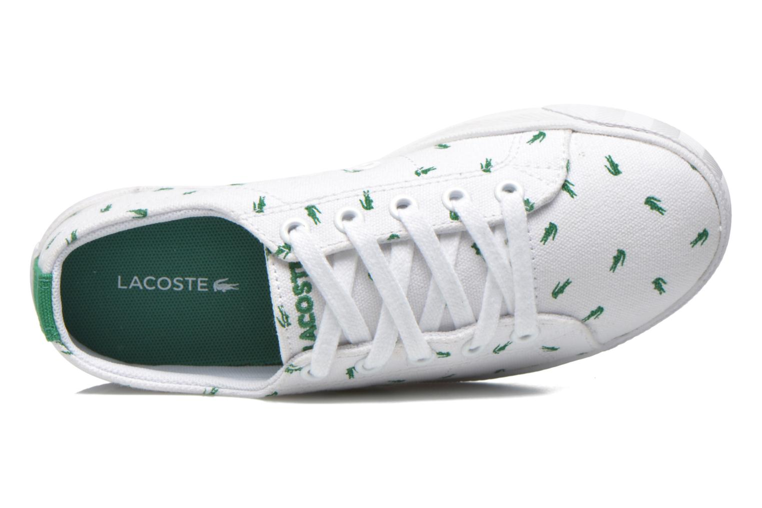 Baskets Lacoste Marcel Lace Up 116 1 SPC Blanc vue gauche
