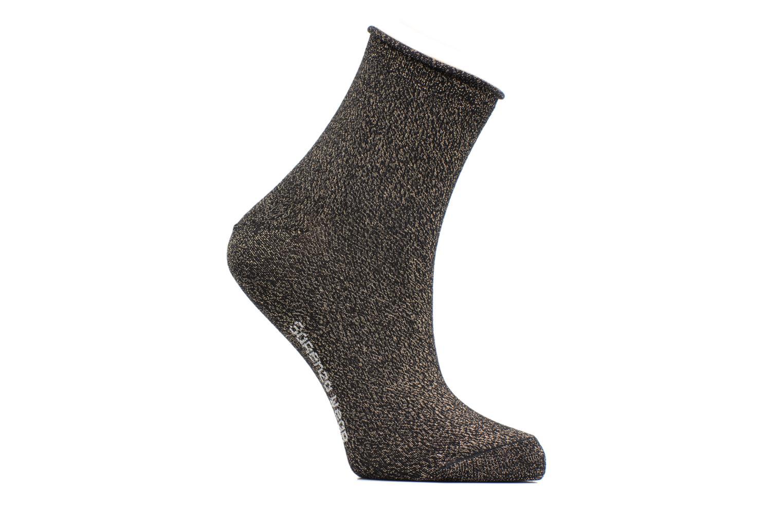 Chaussettes lurex Femme Coton / Lurex Noir doré Lurex