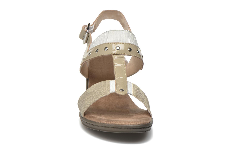 Sandales et nu-pieds Sweet Zaela Beige vue portées chaussures