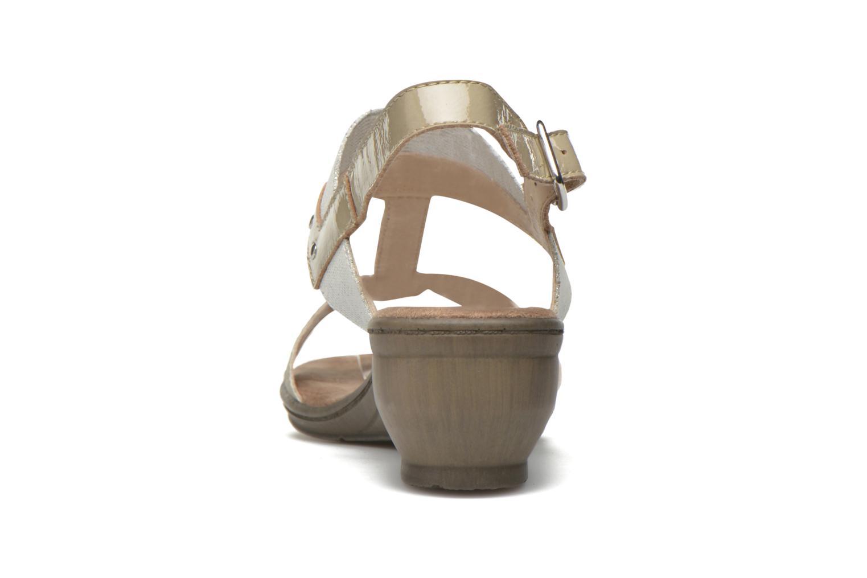 Sandales et nu-pieds Sweet Zaela Beige vue droite