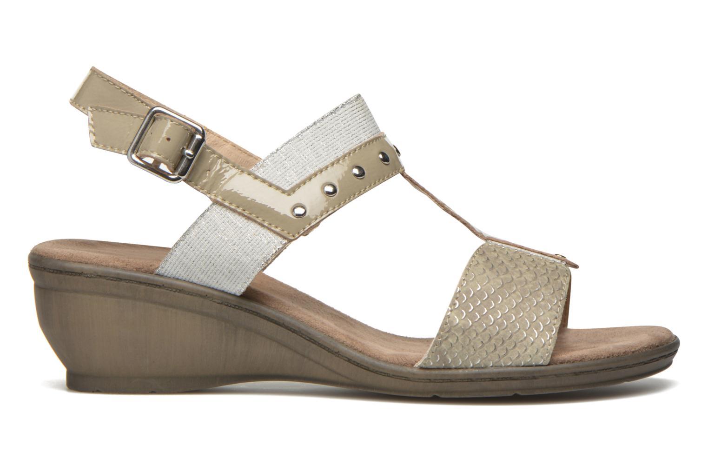 Sandales et nu-pieds Sweet Zaela Beige vue derrière