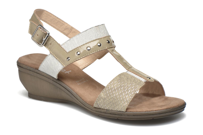 Sandales et nu-pieds Sweet Zaela Beige vue détail/paire