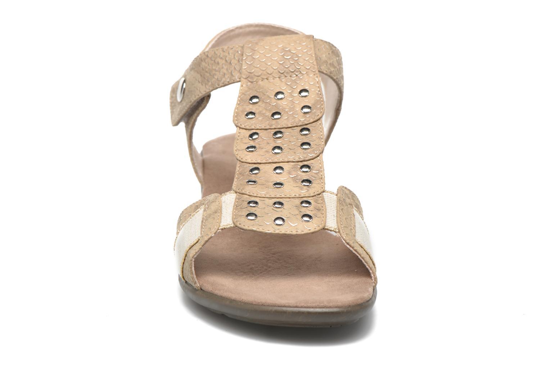 Sandales et nu-pieds Sweet Zofel Beige vue portées chaussures