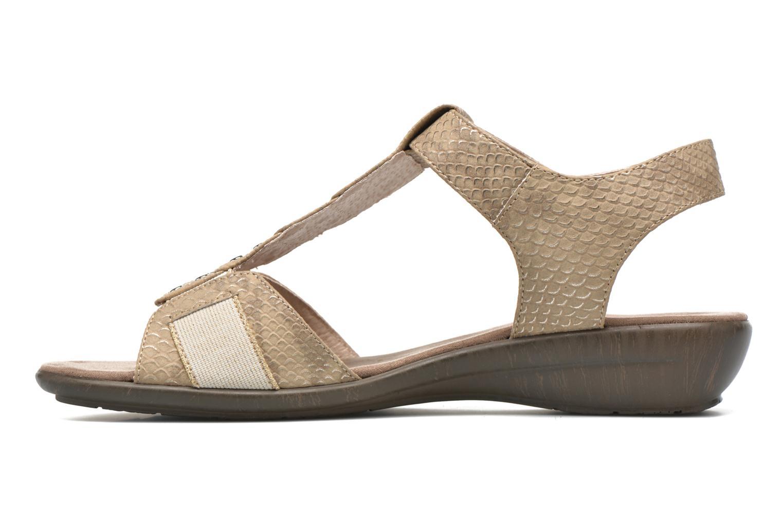 Sandales et nu-pieds Sweet Zofel Beige vue face