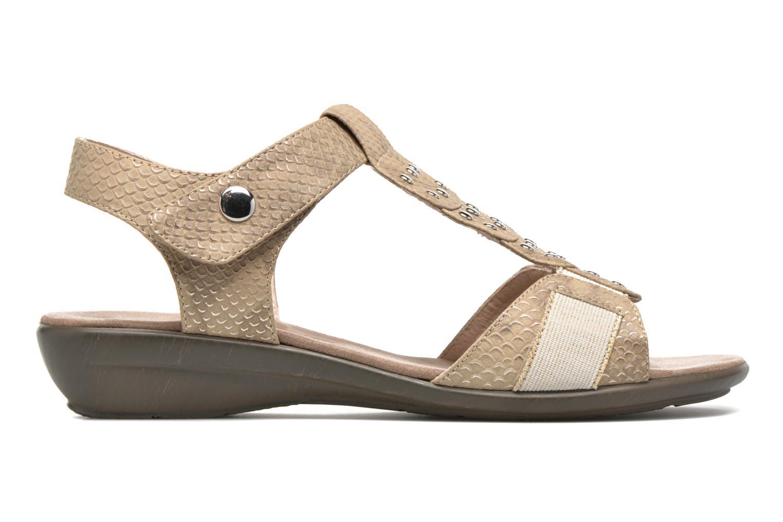 Sandales et nu-pieds Sweet Zofel Beige vue derrière