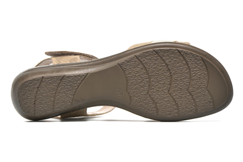 Sandales et nu-pieds Sweet Zofel Beige vue haut