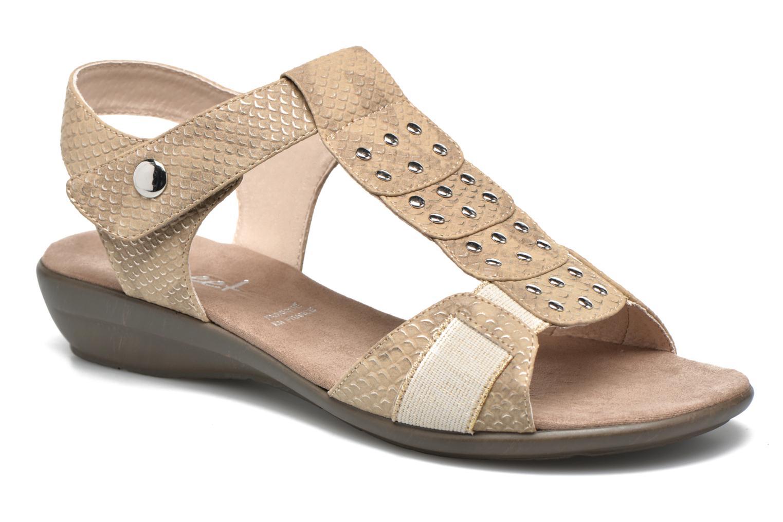 Sandales et nu-pieds Sweet Zofel Beige vue détail/paire