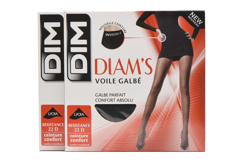 Chaussettes et collants Dim Collant DIAM'S VOILE GALBE Lot de 2 Noir vue détail/paire