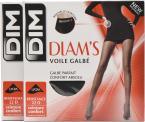 Strumpor och strumpbyxor Tillbehör Collant Diam's Voile Galbé Pack de 2