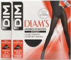 Chaussettes et collants Accessoires Collant Diam's Jambes fuselées opaque satiné Pack de 2