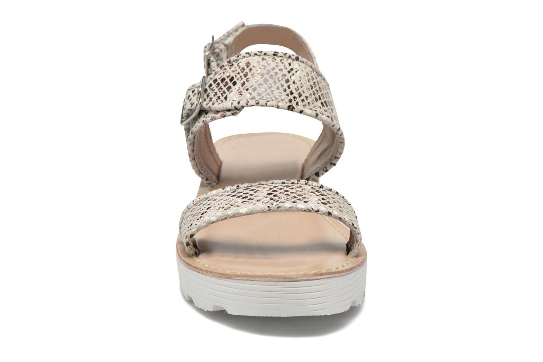 Sandales et nu-pieds L'Atelier Tropézien Ninette Beige vue portées chaussures