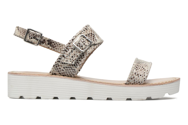 Sandales et nu-pieds L'Atelier Tropézien Ninette Beige vue derrière