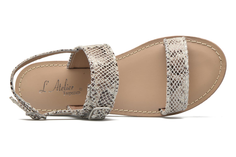 Sandales et nu-pieds L'Atelier Tropézien Ninette Beige vue gauche